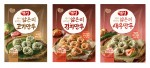 동원에프앤비가 만두피 두께 20% 줄인 개성 얇은피 만두 3종을 출시했다