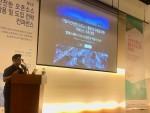 엘에스웨어 박준석 이사가 한국공개소프트웨어협회가 개최한 컨퍼런스에 연사로 참여해 기업의 안전한 오픈소스 활용 및 유통을 위한 거버넌스 구축 전략을 발표하고 있다