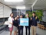 더라인성형외과와 아람청소년센터가 핑크가슴 캠페인을 통해 6호 보호 처분 청소년들의 복지 지원을 위한 후원 협약식을 체결하였다