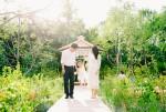 서울숲 설렘정원을 배경으로 찍은 가족사진