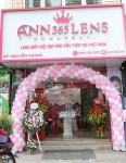 베트남 ANN365 렌즈 매장에서 오픈 행사가 이뤄지고 있다