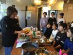 친환경요리연구가와 함께 한 요리워크숍