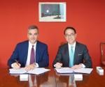 삼성SDS, 피에라 밀라노와 전략적 파트너십 체결. 왼쪽부터 파브리지오 쿠르치(Fabrizio Curci) 피에라 밀라노 대표이사, 홍원표 삼성SDS 대표이사 사장