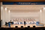 2019 목정 어린이 합창대회에서 대상을 수상한 정평초등학교 합창단이 경연을 펼치고 있다
