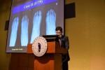 연세건우병원이 대한족부족관절학회 국제학술대회에서 발표를 하고 있다