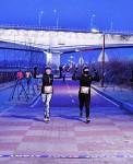 12월 31일 한해의 마지막 날 오후에 저녁놀을 보며 걷는 행사가 정서진에서 열린다