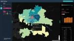 SK텔레콤이 통계청과 모바일 빅데이터 기반의 유동인구 지도 시범 서비스를 시작한다