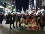 한국시니어스타협회 관계자들이 기념촬영을 하고 있다
