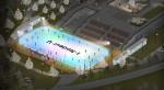 겨울왕국을 연상시키는 한강 노들섬 스케이트장