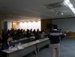 웹케시가 진행한 2019년 귀속 연말정산 프로그램 설명회에서 참석자들이 교육을 듣고 있다
