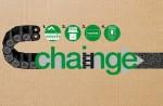 플라스틱 체인 재활용 방법: 1. 체인 세척 2. 무게 측정 3. 무게 메모 후 해당 지사 폼 작성(recycling.igus.com) 4. 택배 발송