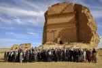 사우디아라비아 유네스코 세계문화유산 헤그라에 노벨 수상자들과 선구적 사상가들이 모였다