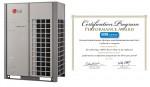 멀티브이는 LG전자의 대용량 시스템 에어컨 제품군의 대표모델로 미국 냉동공조협회 '퍼포먼스 어워드'를 수상했다