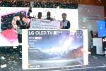 LG전자가 나이지리아 라고스 지역에서 LG 올레드 TV 게이밍 챌린지를 개최했다