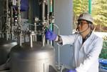수소저장 액체기술 설비 작동