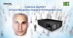 CyberLink와 IEI Integration Corporation가 스마트 AIoT 솔루션용 FaceMe® 얼굴 인식 엔진 공급을 내용으로 한 파트너십을 체결했다
