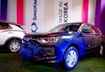 쌍용자동차가 글로벌 수출 확대를 위해 페루 등 중남미 시장을 공략한다