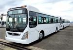 현대자동차가 투르크메니스탄에 뉴 슈퍼 에어로시티 400대 공급 계약을 체결했다