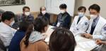 대한중환자의학회와 글로벌케어가 대구동산병원에서 모여 중환자 지원에 대한 방안을 모색하고 있다