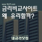 주택담보대출 금리비교 사이트 내금리닷컴