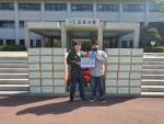 글로벌쉐어가 군포시청에 취약계층을 위한 후원 물품을 전달했다