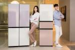 삼성전자가 새로운 제품 타입과 색상을 추가한 맞춤형 냉장고 비스포크를 출시한다