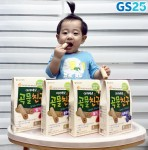 GS25가 아이배냇과 손잡고 영유아 웰빙 간식 곡물친구를 출시했다
