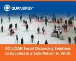3D 라이다 사회적 거리두기 솔루션이 직장으로의 안전한 복귀를 촉진한다