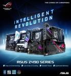 에이수스가 인텔 코멧레이크 Z490 칩셋 메인보드 시리즈를 출시했다
