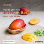 만나몰이 대만산 애플망고 출시 기념 초특가 행사를 진행한다