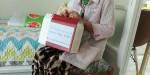 성민재가노인복지센터가 폭염 대비 및 예방을 위해 지원한 건강식품