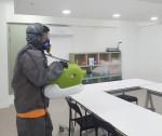 국제구호개발 NGO 월드쉐어가 하나방역 제주지사와 함께 제주도 내 복지시설에 방역 나눔을 실천했다