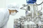GC녹십자 오창공장에서 혈장 분획 공정 작업이 진행되고 있다