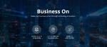 비즈니스온커뮤니케이션 홈페이지 메인 화면