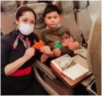 중국 동방항공이 기내 음식 폐기물 줄이기 친환경 사업을 추진한다