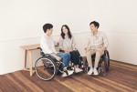 '하티스트' 휠체어 사용자를 위한 의류(삼성물산 패션부문 제공)