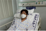 난치성 혈액질환 환자에게 조혈모세포를 기증한 최종익 전임행정원