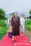 장백예술제 오프닝 행사이자 국내 최초로 열리는 '남성 치마 패션쇼'가 성황리에 마무리됐다