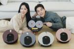 LG전자가 바퀴 없는 물걸레 전용 로봇청소기 LG 코드제로 M9 씽큐를 출시했다