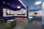 시민청 지하 1층에 위치한 미디어월(담벼락미디어)에서는 66개 모니터를 통해 미디어 아트 전시가 열린다