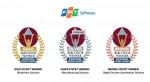 FPT Software의 제품이 제17회 스티비어워즈 국제 비즈니스 대상의 비즈니스 테크놀로지 솔루션 부문에서 금상, 은상, 동상을 받았다