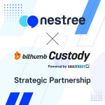 네스트리가 빗썸 커스터디와 전략적 제휴를 체결했다