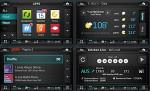 인도 시장에 출시된 오비고의 차량용 앱 스토어 서비스 화면
