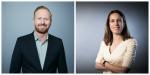 CNN 인터내셔널 커머셜이 국제 광고영업부문에 롭 브래들리(왼쪽), 캐시 이발(오른쪽) 공동대표를 임명했다
