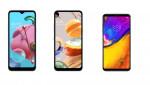 LG전자가 LG 벨벳 대표 UI를 실속형 스마트폰으로 확대 적용한다. 사진은 올 연말까지 LG 벨벳 대표 UI가 적용되는 제품들. 왼쪽부터 LG Q51, LG Q61, LG V35