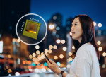 The new REAL3 ToF chip enables better photography results with a faster autofocus in low-light condi