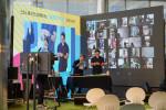 공공의주방은 2020 강남 청년힐링그라운드 행사에서 양방향 온라인 클래스를 무대로 꾸며 진행했다
