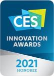 누비랩의 인공지능 푸드스캐너는 CES 2021 Innovation Awards Honoree에 선정되었기에 이 로고를 사용할 수 있다