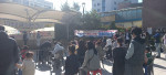 길마골 가을축제 사생대회 현장