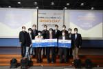 ENNOvation TANK 수상자들이 기념 사진을 찍고 있다